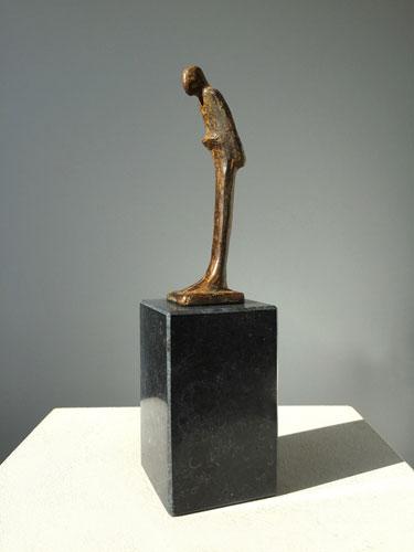 Kleine Bronzen Beeldjes.Relatiegeschenken Bronzen Beeldjes Ragonda Ijtsma Kunst
